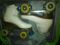 Excellent professional artistic roller skates