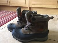 North face walking boots, size 10