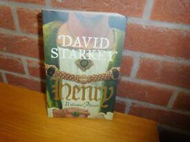 BOOK - PAPERBACK - DAVID STARKEY - HENRY, VIRTUOUS PRINCE