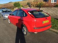Ford Focus Ghia top spec. New MOT. (Not Vauxhall, Peugeot, fiat, Citroen)