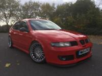 Seat leon Cupra R (BAM, stage 2 JBS tuned, forged engine, modified, stance, show car)