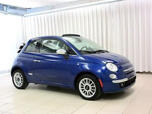 2012 Fiat 500 500C SOFT TOP CONVERTIBLE  2DR 4PASS w/ Air Condit