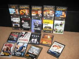 Various dvds selling individually top films