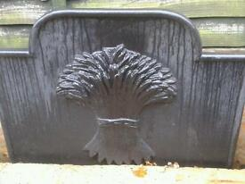 "FIRE BACK PLATE 32"" WIDE 24"" HIGH"
