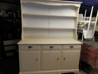 Hand painted farmhouse style Kitchen Dresser by the maker 'Stag'