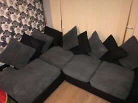 L shape sofa Right hand Good condition