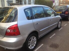 Honda Civic 2003 auto good condition and drives very smooth one year mot hpi clear