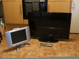 """28"""" LCD/DVD combo and 10.5"""" LCD TV"""