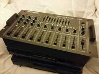 9 Channel Professional stereo Dj mixer mint condition