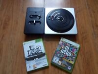 DJ Hero - Turntable Kit (Xbox 360) with Dj Hero 1 & 2
