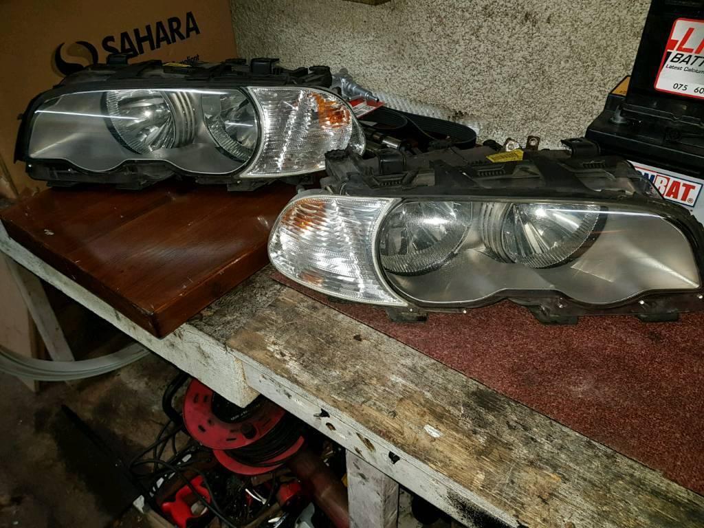 bmw e46 330 msport headlights