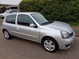 2007 Renault Clio 1.2 One Former Keeper Low Miles Ideal First Car