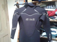 fantastic winter Ladies C-skins Angel wetsuit, 5x4x3, size 8-10 petite, excellent condition,