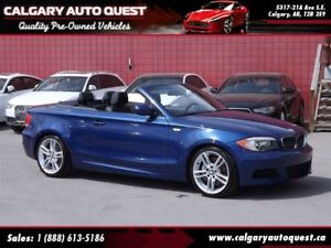 2013 BMW 135 i CONVERTIBLE/NAVIGATION/LEATHER/LOW KMS