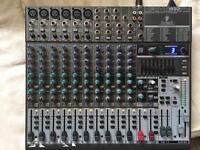Mixing desk- Behringer Xenyx 1832fx