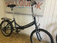 Raleigh Airlite folding bike