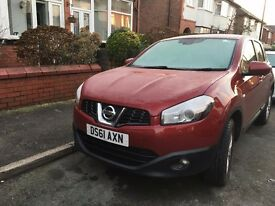Nissan Qashqai Acenta 1.5 DCI Red TOP CONDITION (Full Service & MOT end of OCT 2016)