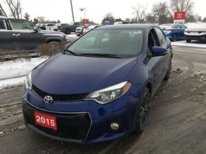 2015 Toyota Corolla FULLY, FULLY loaded S Package!