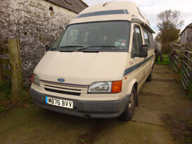 1994 Autosleeper Duetto. Ford Transit Diesel.