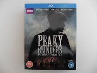 blu-ray dvd discs, peaky blinders series 1 and 2 only watched once