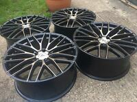 Brand new 19 cyclone alloys 5x120 BMW staggered