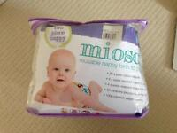 Brand new Bambino Mio re-usable nappies. Birth to Potty pack and accessories