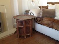 Large moroccan persian side table coffee table