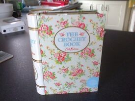 A Kath Kidson crochet box as a book. Opened but unused.