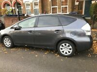 UBER READY PCO TOYOTA PRIUS + 7 SEATER FOR HIRE £210 PER WEEK INCL INS