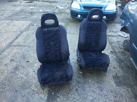 honda civic ek4 vti pre facelift front seats ej9 ek3 em1 96-00