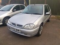 """2003 """"52"""" SAXO 1.1 3DR LOADS MOT PX WELCOME MORE CARS IN STOCK"""