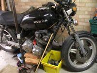 Motorbike 2 Classic Honda Cb 750 1980 Have V5c Both Restoration Project