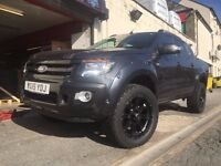 18 RACELINE RAPTOR WHEES AND TYRES FORD RANGER MITSUBISHI L200 D MAX TOYOTA HI LUX