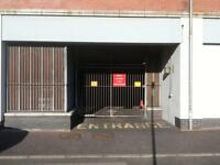Belfast City centre car parking secure gated inside covered