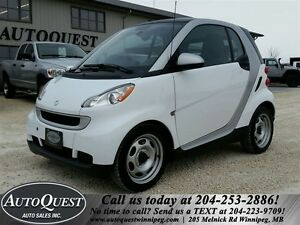 2012 smart fortwo Pure - FUEL EFFICIENT, LOW MILEAGE 2 SEATER!