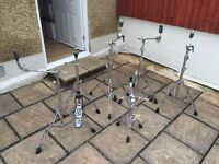 Pearl, Tama and Mapex Drum Hardware. Boom, Hi-Hat stands (Individual Prices in Description)