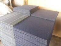 Carpet tiles for sale just 90 pence each