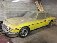 Triumph stag restoration project