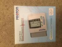 Digital Pressure Monitor Wrist