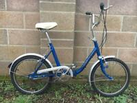 Vintage Folding Bike - Great condition & delivery available!!
