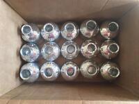15 mercury glass bottle with cork tops - wedding decoration