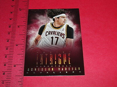 2013-14 Panini INTRIGUE Anderson VAREJAO #55 Gold/10 Cleveland CAVALIERS Brazil