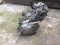 Yamaha Ybr 125 engine for spares
