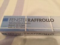 Fensterraffrollo aus 100% Papier, neu, OVP Berlin - Steglitz Vorschau