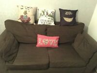 NEXT Brown Sofa / Settee / Couch