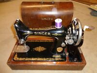 Singer sewing machine 1923 with hand winder