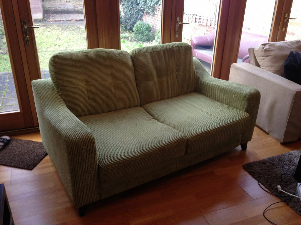 Lime Green Two Seater Sofa For Sale London West Ealing Reduced 80 In Ealing London
