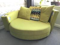 Bluetooth cuddle sofa