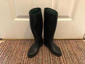 Toggi children's riding boots, size 1
