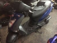 kymco agility 125cc 1 key, no logbook,spares repairs